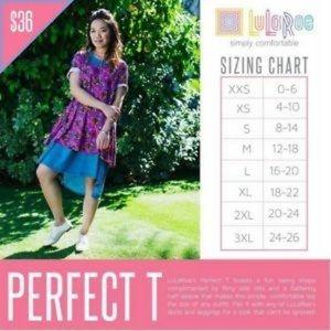 LuLaRoe Tops - Lularoe Perfect T tunic shirt pink feathers 2xl
